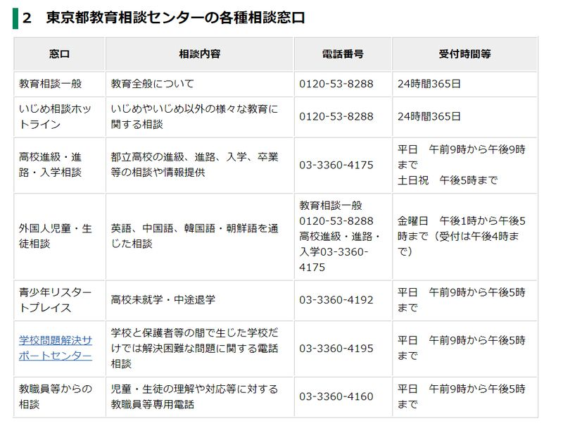 東京都教育委員会