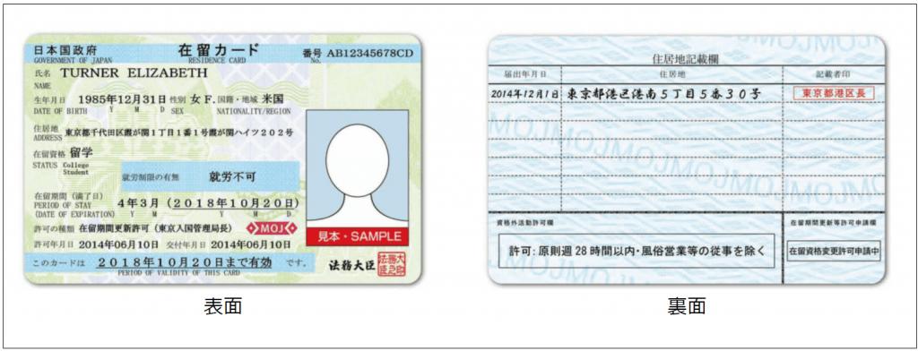在留資格認定証明書(COE)と在留カードとの違い